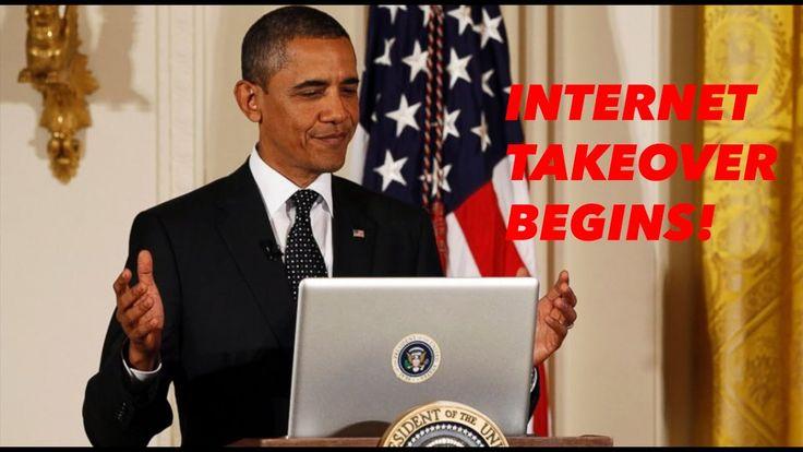 INTERNET TAKEOVER BEGINS!