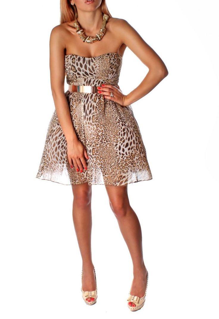 Wild About Me Dress - Baronesa Fashion House