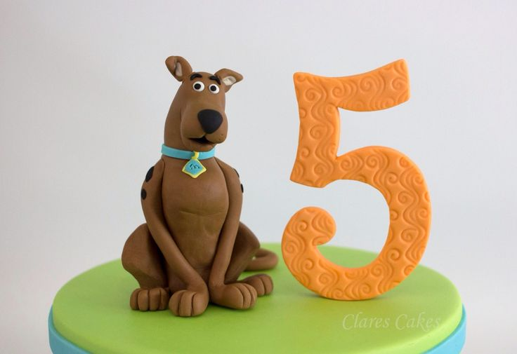 Fondant Scooby Doo  Clares Cakes - For all inquiries please email info@clarescakes.com.au