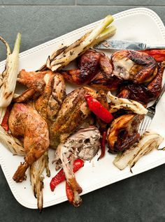 Recette de poulet de Cornouailles de Pierre Gingras
