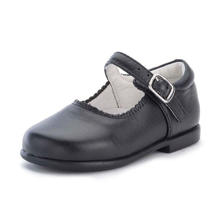 Merceditas Niña Piel Hebilla. Zapatos baratos para Niñas