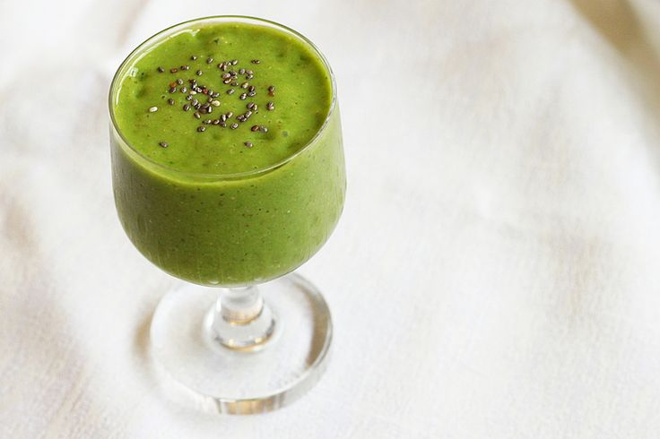 Super healthy avocado-peer smoothie - Culy.nl