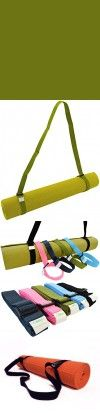 Bean Yoga Mat Sling Harness Extra Long Recycled Polyester - Olive