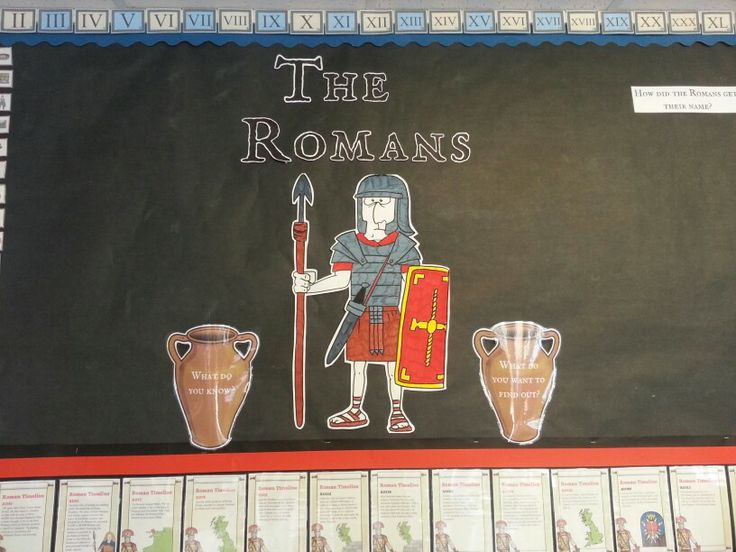 The start of the Romans...