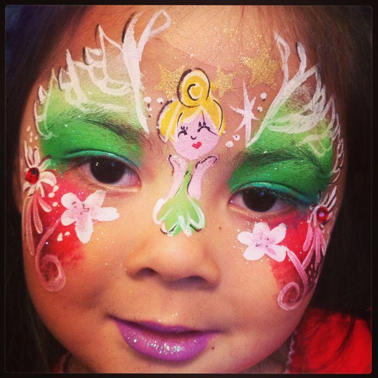 face painting -Fairy Face Princess! | Face paint fairy ...