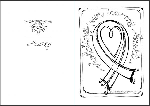 sympathy coloring pages - photo#23