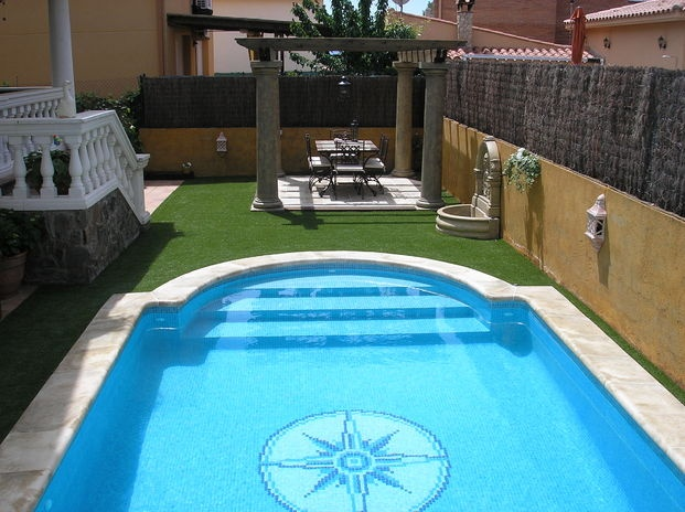 383 best piscinas images on pinterest backyard ideas for Escalones piscina