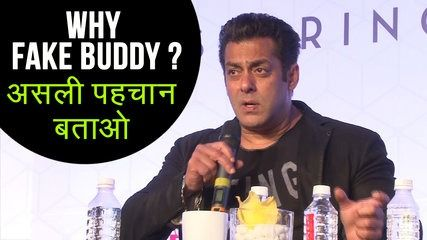 Salman Khan ANGRY On People Using FAKE Identity On Internet REACTS On Cyber Crime | موفيز هوم  Salman Khan gave a strong reaction on cyber crime and people who fake their identity on internet. He expressed his anger.  Reporter: Abhishek Halder Editor: Advait Pansare.