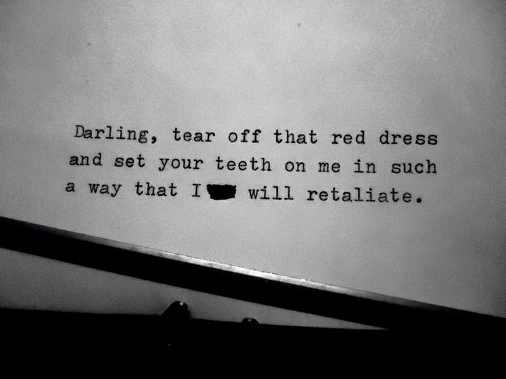 Red and black dress quotes