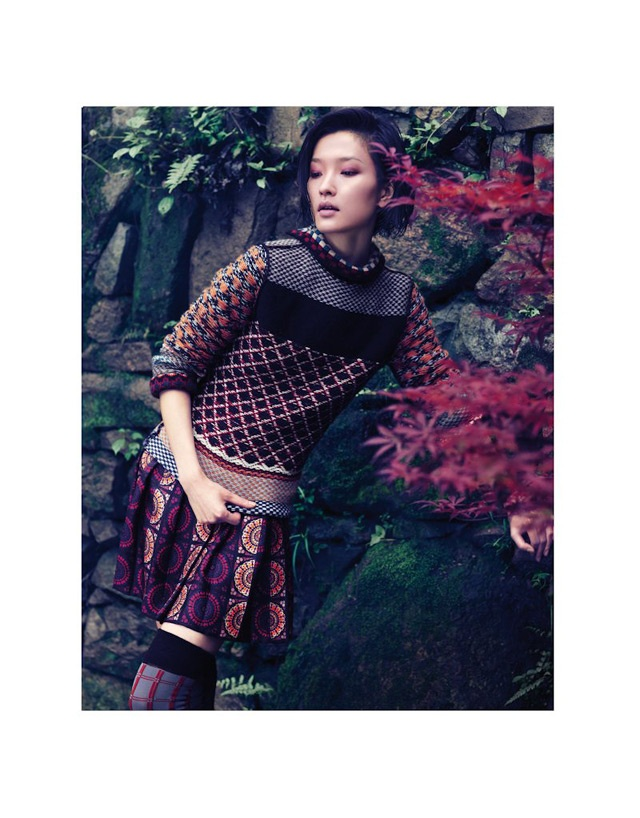 Du Juan | Vogue China September 2011