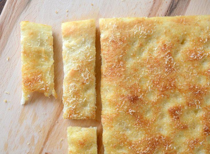 Parmesean foccacia bread