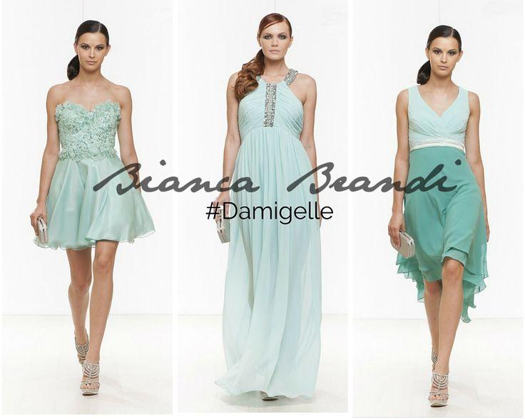 #Damigelle... Il #color #verde menta è perfetto per i #matrimoni e soprattutto per gli #abiti delle damigelle! La sua #freschezza e #delicatezza renderà il #matrimonio di sicuro #speciale !  #moda #style #color