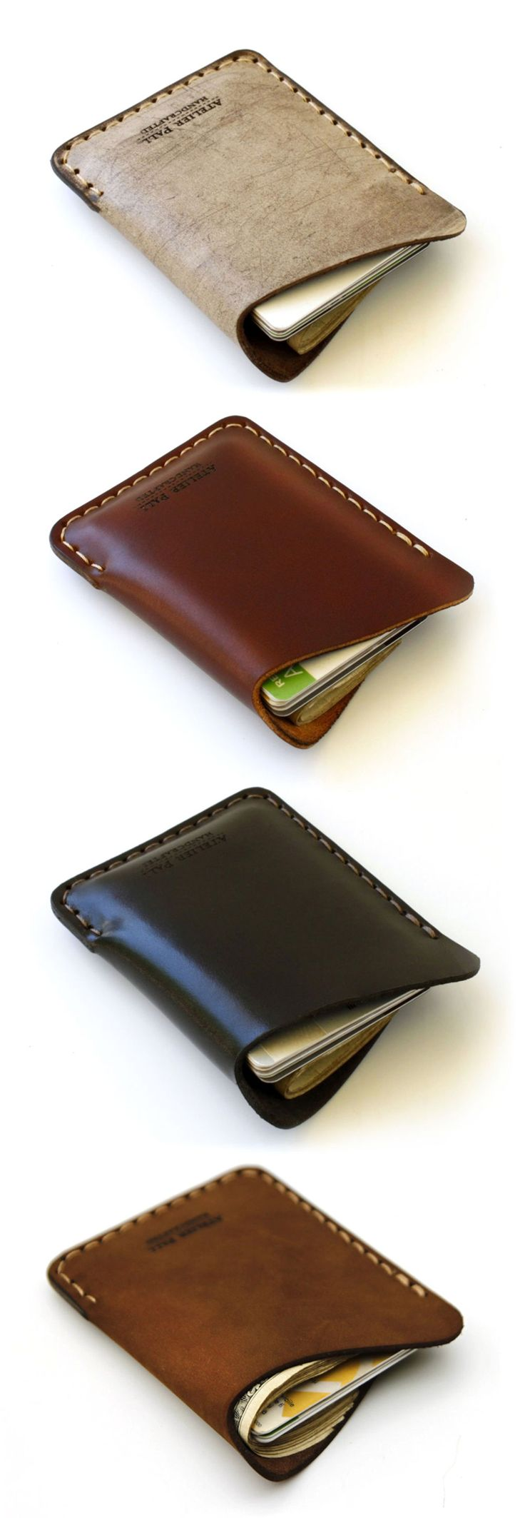 Wave Wallet - minimal single pocket slim wallet for men & women