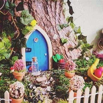 Where Do Fairies Live? Behind These Enchanting Miniature Doors - NBC News