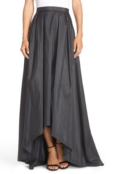 Alex Evenings High/Low Taffeta Ball Skirt available at #Nordstrom