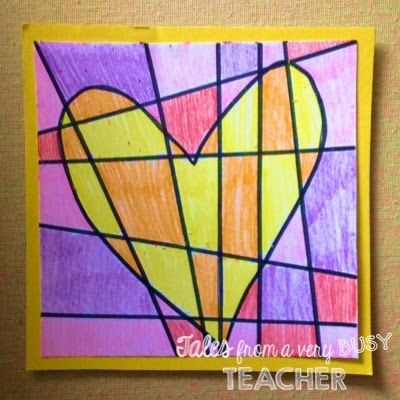 Valentine's Day Art Project