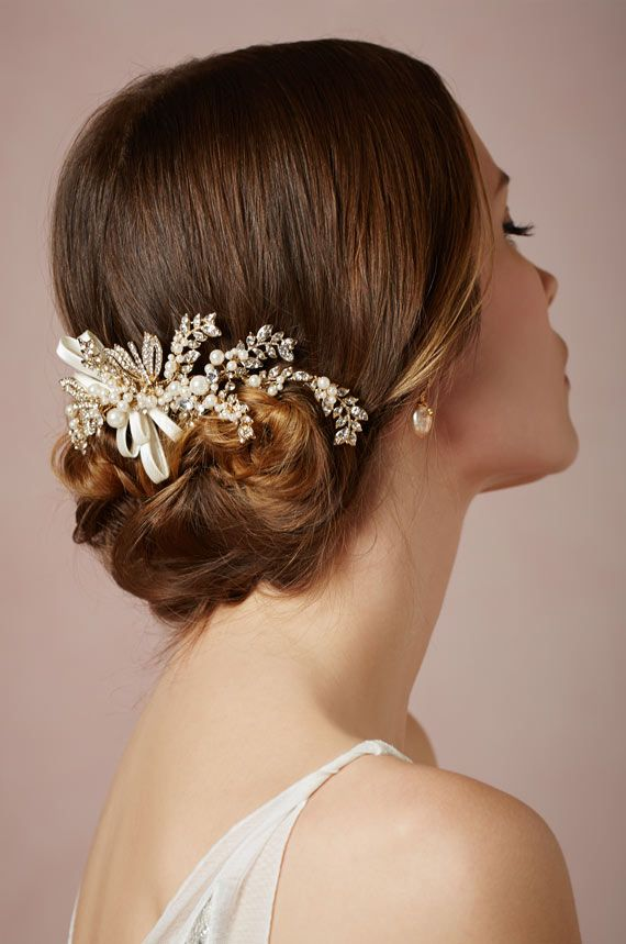I wonder if this would still look nice with thin/fine hair?  BHLDN Fall 2013 | 100 Layer Cake