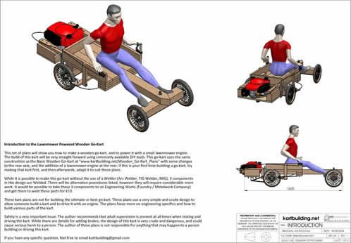 To Do With Daddy How To Build A Wooden Go Kart Powered By A Lawn