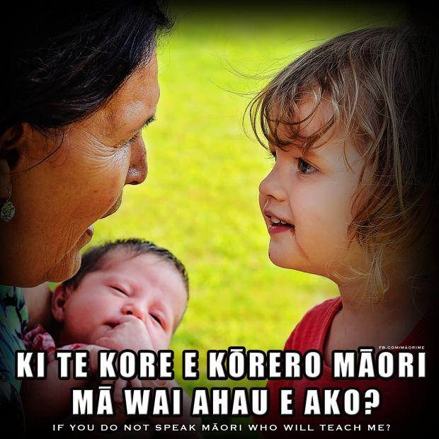 Ki te kore e kōrero māori mā wai ahau e ako? If you do not speak Māori who will teach me? #Whakatauki #Maori #Proverb For more Māori language resources check out www.maorime.com