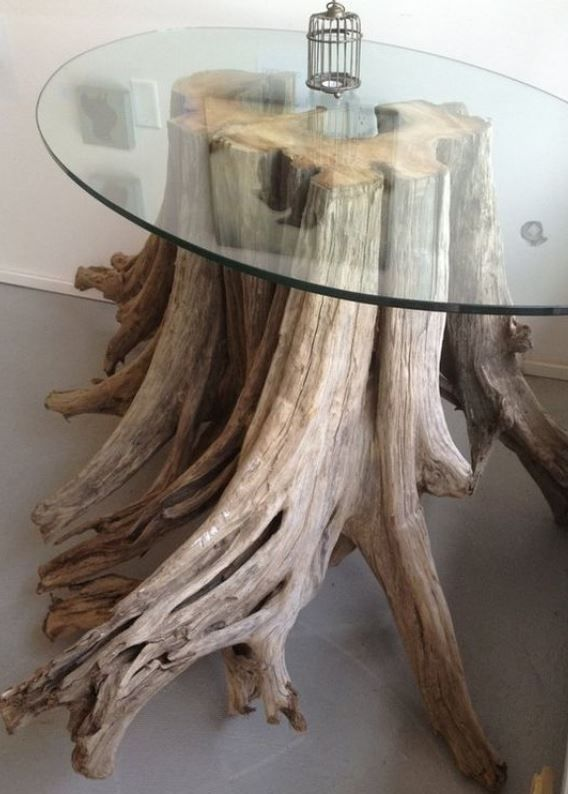 13 Stunning Tree Tables That Shows Us The Beauty Of Nature Homelysmart Driftwood Furniture Decor Diy