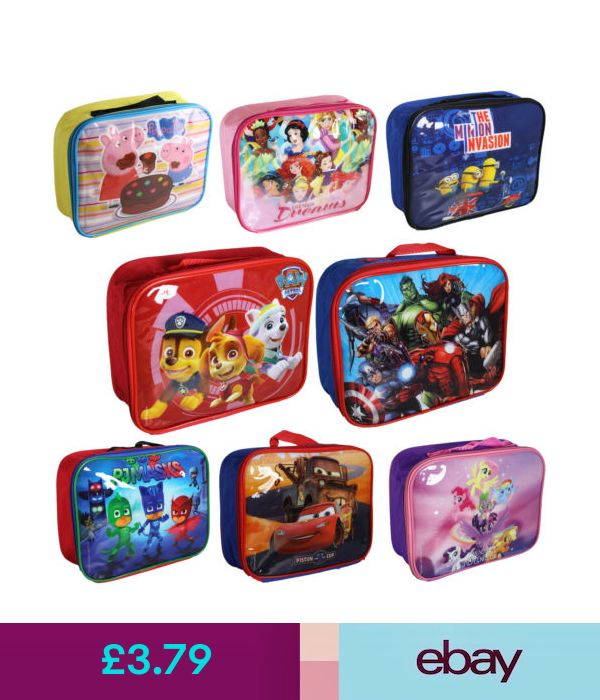 2b5593fae89d Kitchen   Dining  Back To School  Disney   Tv Character Insulated Lunch    Cool Bag  ebay  Home   Garden
