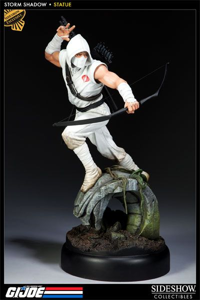 Sideshow Collectibles - Storm Shadow Polystone Statue