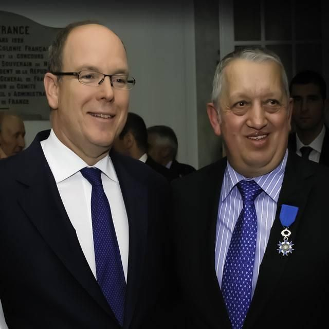 Joel Garault élevé dans l'Ordre National du Mérite