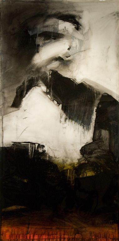 "Saatchi Art Artist: Gaston Carrio; Mixed Media 2011 Painting ""BELIEVER I"""