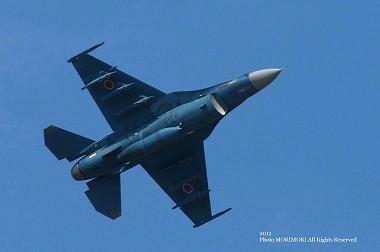 F2戦闘機 機動飛行 2012年 新田原基地にて 03