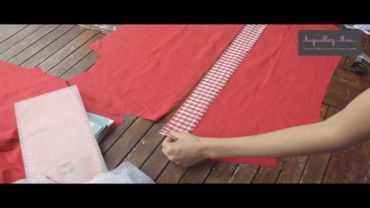 Coudre une chemise - 4 / Patte de boutonnage