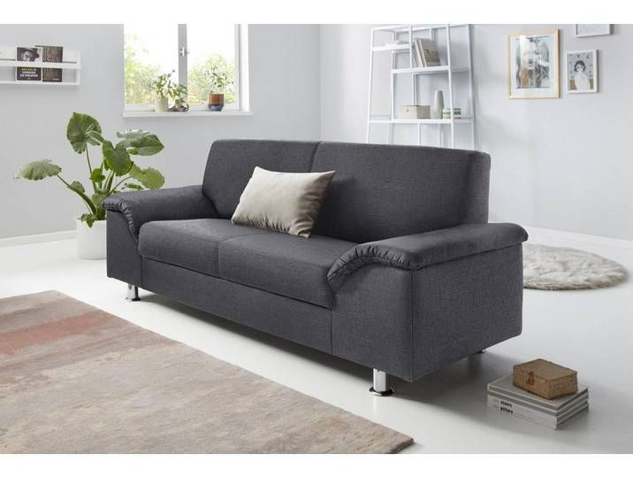2 5 Sitzer Inklusive Federkern Grau 212cm Fsc Zertifikat Fsc Zertifiziert Trendmanufaktur Wohnen Haus