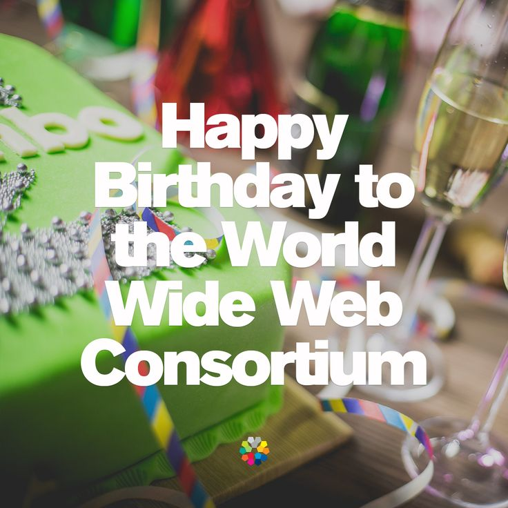 Happy Birthday to the World Wide Web Consortium #ifactory #ifactorydigital #digitalagency #adlife #digitallife #webdesign #webdevelopment #design #creative #blog #website