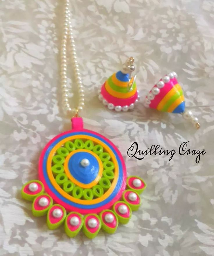 Jewellery. I like the color combination