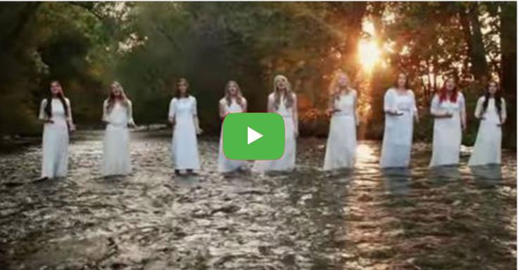 """This a cappella performance of """"Amazing Grace (My Chains Are Gone)"""" is absolutely breathtaking"""