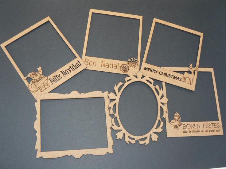 Resultado de imagen para marcos creativos madera