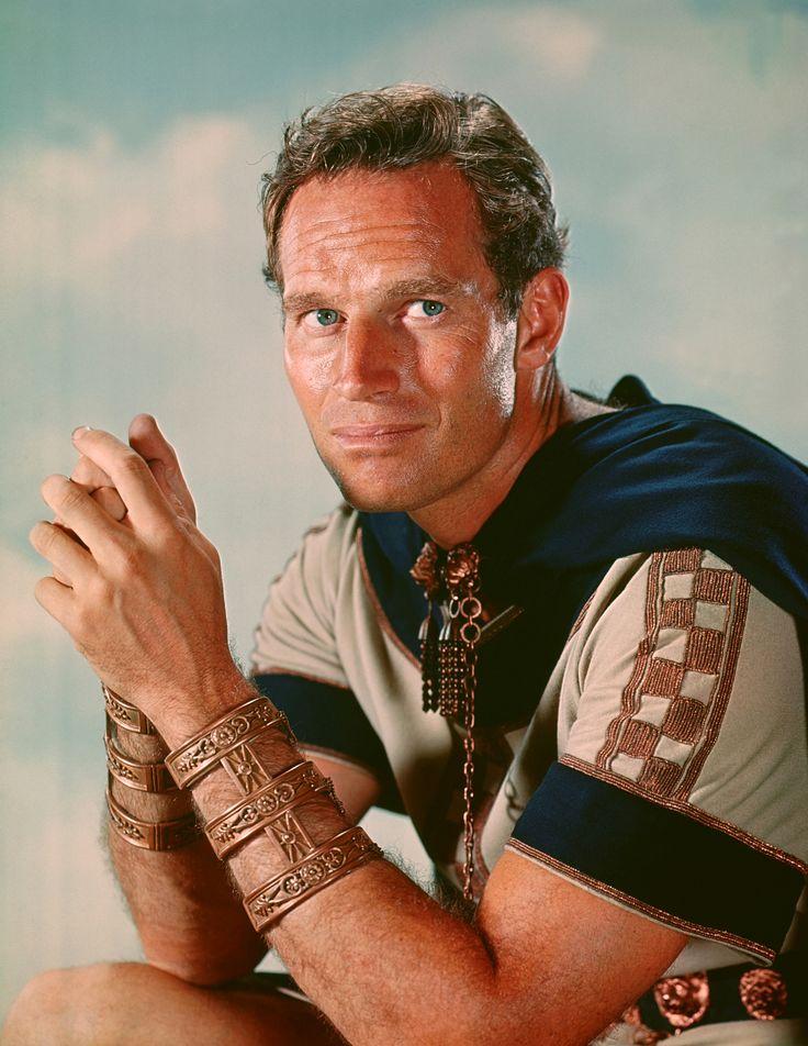 Charlton Heston for Ben-Hur