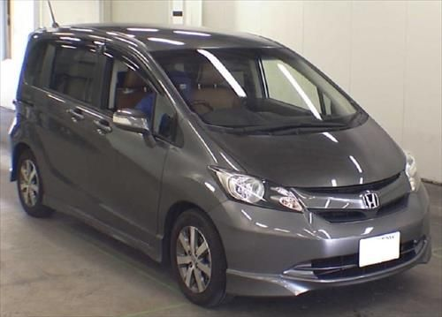 Refer: Ninki26378 Make: Honda Model: Freed Year: 2009 Displacement: 1500 CC Steering: RHD Transmission: AT Color: Gray FOB Price: 9,300 USD Fuel: Gasoline Seats: 7 Exterior Color: Gray Interior Color: Gray Mileage: 101,000 KM Chasis NO: GB3-1101512 Drive type Car type: Wagons and Coaches