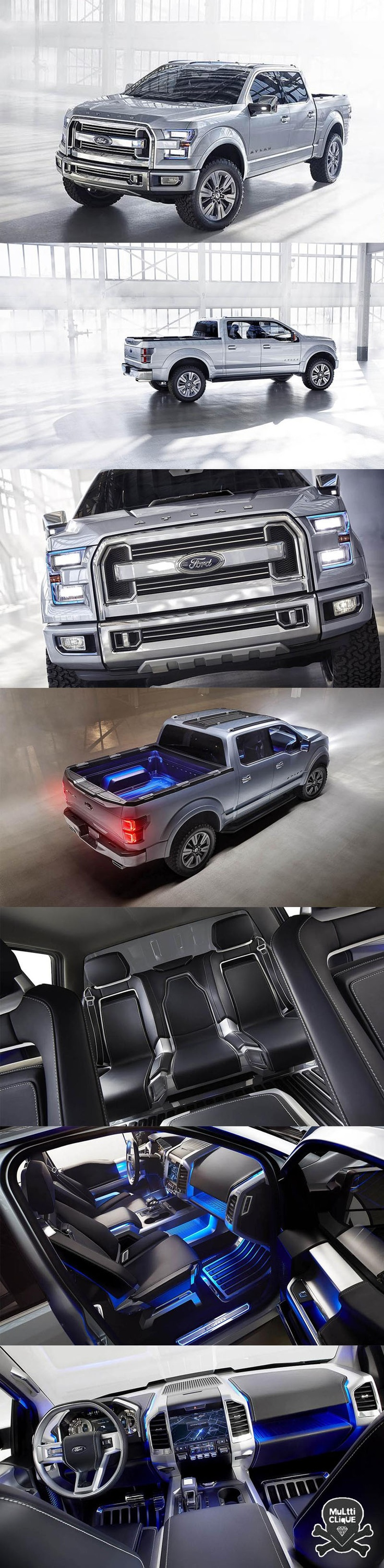 Ford atlas concept my hubbie s dream truck