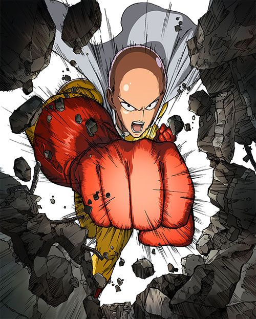Two One Punch Man Anime Visuals Revealed - Haruhichan