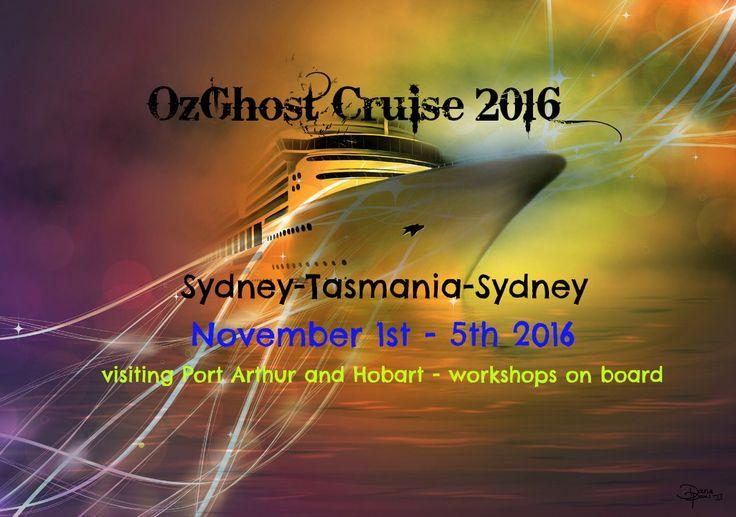 Our next OzGhost Cruise is ready to set sail Nov 2016