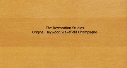 Heywood Wakefield Stain Choices Wheat or Champagne