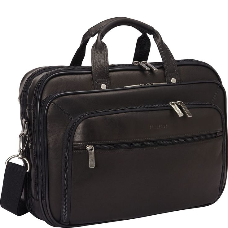 Leather Imported Full interior lining 12″ high 16″ wide Columbian leather double gusset top zip ez scan 15.6 inch computer port with iPad/tablet pocket with gusseted front pocket. Check…#OFERTE, #serviete, #piele, genti din piele naturala https://gentidedama.wordpress.com/oferte/ via @wordpressdotcom