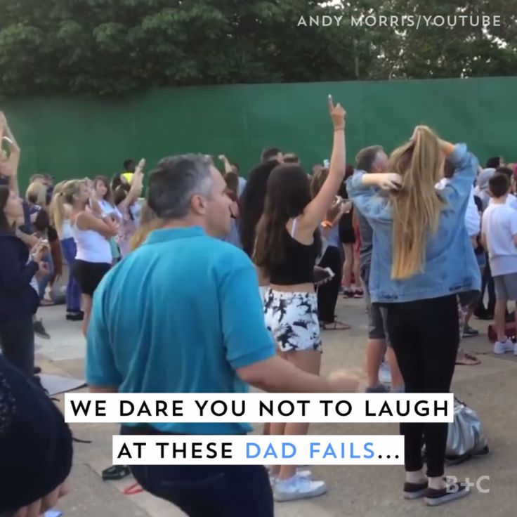 Watch this video for some of the most hilarious dad fails on the Internet. I loved that dad and baby dance class!