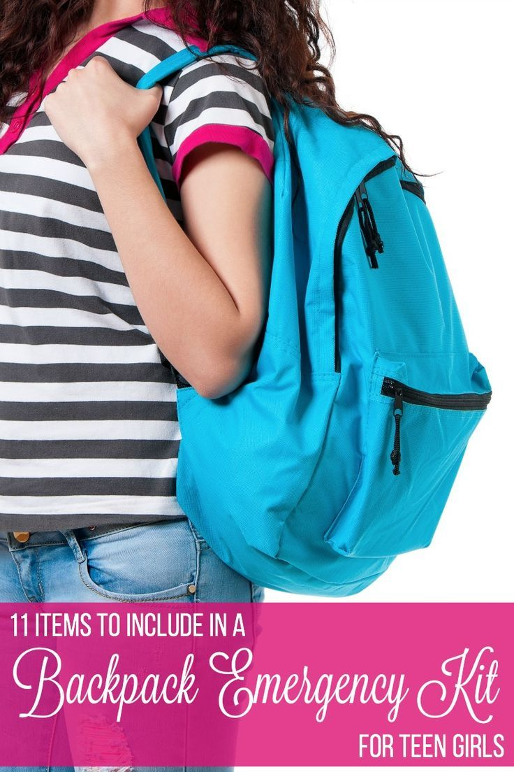 At school, teen girls should be prepared for a number of situations. Keeping an emergency kit in their backpack or locker will help prevent embarrassment and make their school days easier.