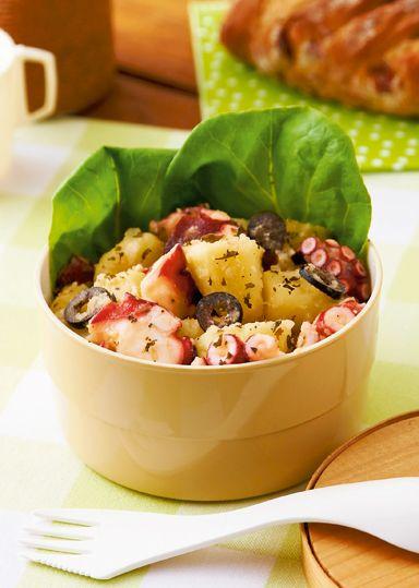 たことじゃが芋のミントサラダ のレシピ・作り方 │ABCクッキングスタジオのレシピ   料理教室・スクールならABCクッキングスタジオ