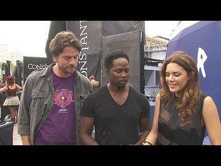 Constantine - Season 1: Comic-Con 2014: Charles Halford, Harold Perrineau & Angelica Celaya Interview --  -- http://www.tvweb.com/shows/constantine/season-1--comic-con-2014-charles-halford-harold-perrineau-angelica-celaya-interview
