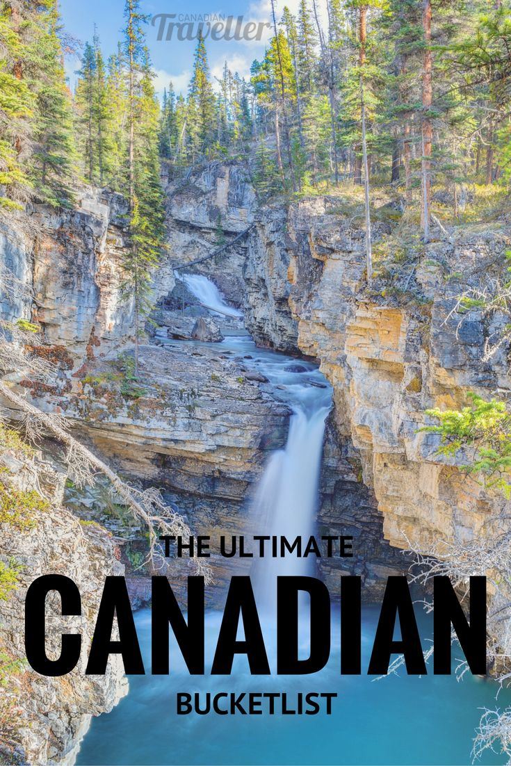 The Ultimate Canadian Bucket List by Canadian Traveller Magazine. What do where when visiting Canada, province by province. #explorecanada #Canada #travel #highlights #see #plan #organize #must #do