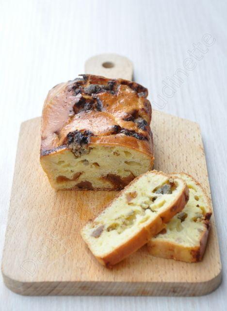Petits cakes au foie gras et aux figues