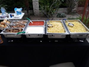 Italian Pasta Bar Catering Menu  http://elegantecatering.com/italian-pasta-bar-catering-menu/