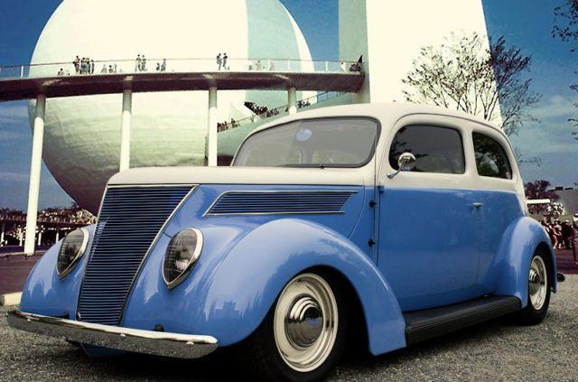 1937 ford two door sedan slantback restomod 350 horsepower for 1937 ford four door sedan